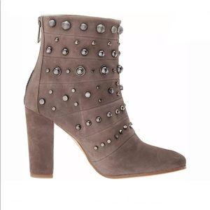Badgley Mischka Suede Boots